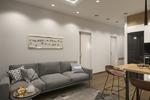 Визуализация квартиры-студии в Европе