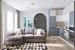 Проект дома с мебелью IKEA