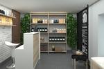 Дизайн проект небольшого магазина чая