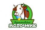 """Логотип фермы """"Вознесеновский молочник"""""""