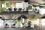 Дизайн офисного пространства в Сколково