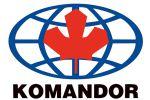Вывеска для компании-дистрибьютора фабрики Comandor.