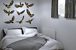 Спальня в вагончике