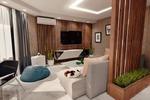 Проект квартиры студии 80 кв.м