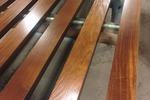 Деревянные декоративные рейки в шпоне