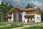 Проект дома из керамического камня 264 кв. м.
