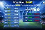 Турнир по FIFA 20 баннер для группы в ВК