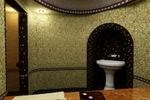 визуализация Турецкой бани (хамам)