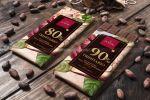 Упаковка для элитного итальянского шоколада DOMORI