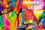 Higher level shit (рисунок для принта)