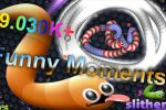 19.030K+ Funny Moments - 1 Place in Slither.io
