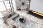 Визуализация дивана в интерьере для фабрики