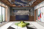 Дизайн холла для отеля 3*