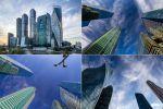 Архитектурная фотосъёмка, Москва-Сити