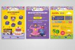 Дизайн рекламных материалов для детского развлекательного центра