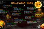 Дизайн баннера на Halloween