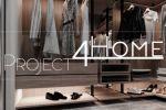 Проект коттеджа 272 м2 (интерьер 1-го этажа) - гардеробная