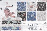 Иллюстрации для коллекции постельного белья