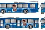 Троллейбус PHILIPS