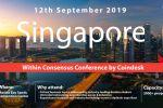 Рекламная компания блокчейн-конференции в Сингапуре