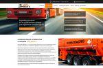 Дизайн и верстка сайта для сервисной станции