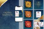 Дизайн страницы Instagram по ведической тематике