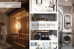 3D-визуализация дизайна интерьера дома со вторым светом