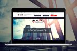 Корпоративный сайт Alpa Construction