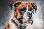 Digital Dog Oil (цифровой портрет)