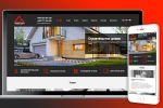 Сайт для компании Want Stav на Modx Evolution