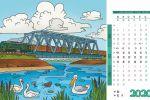 Страницы перекидного настольного календаря, часть 2