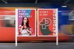 """Постеры по рекламе курса для личного бренда """"Patonich"""""""