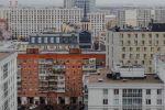Вид на Санкт-Петербург. Март 2020