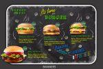 """Баннер """"It's time burger"""""""