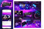 JOKER PlayStation Club_оформление/ведение аккаунта