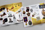 лого и евробуклет для производства элитной сувенирки