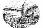Рынок старинного города