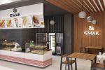 Дизайн и визуализация кафе в ТЦ