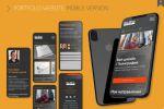 Мобильная версия сайта студии дизайна