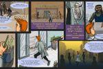 Комикс о приключениях