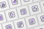Набор иконок UI