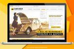 Дизайн сайта для компании по подбору автомобилей CarCheck