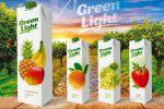 Дизайн упаковки для линейки соков Green Light