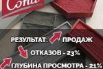 Снижение отказов на сайте на 23%, повышение глубины просмотров