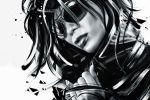 Velata (Fatalism Art) Black and white