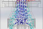 Исследование движения воздушного потока