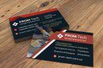 Дизайн визитки для предприятия ТОВ «ПРОМТЕХКАПІТАЛ»