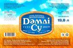 Damdi Su - этикетка для бутилированной воды