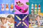Фирменный стиль для социальных сетей детского бренда