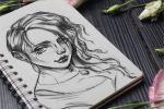 Рисунок ручкой